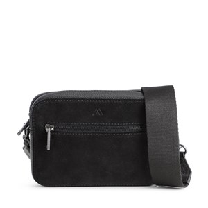 Markberg Crossbody Elea Suede Mix   Sort