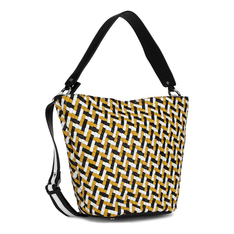 Adax Flettet håndtaske Sonia Cormor Multi 1
