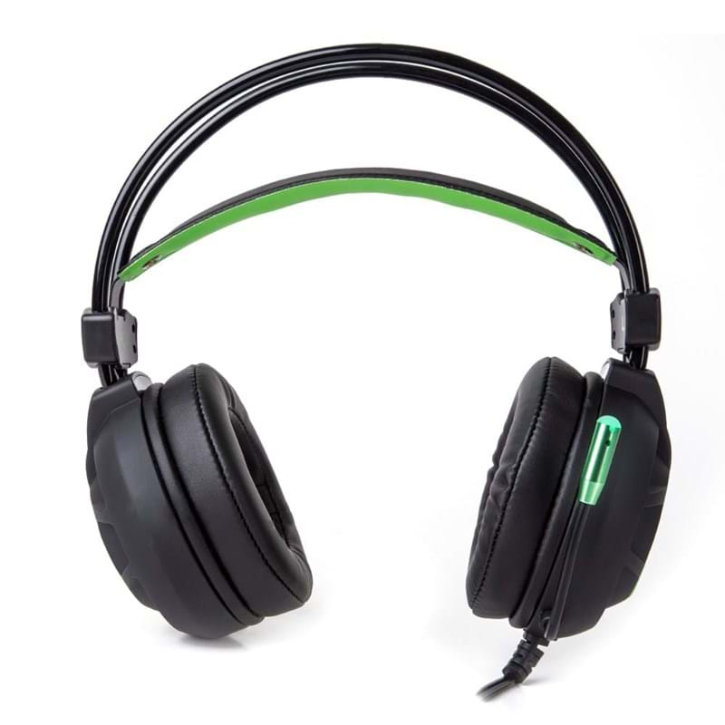 Marvo Gaming Headset Sort/Grøn 2
