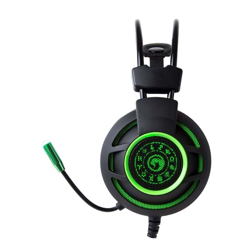 Marvo Gaming Headset Sort/Grøn 3