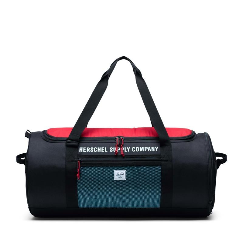 Herschel Sportstaske Sutton Carryall Sort/Rød 1