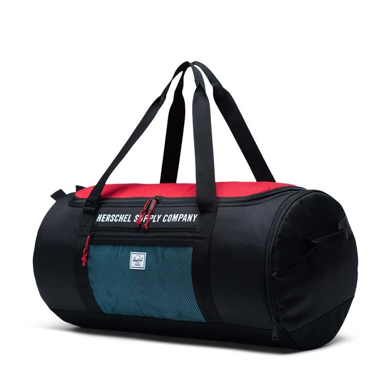 Herschel Sportstaske Sutton Carryall Sort/Rød 2