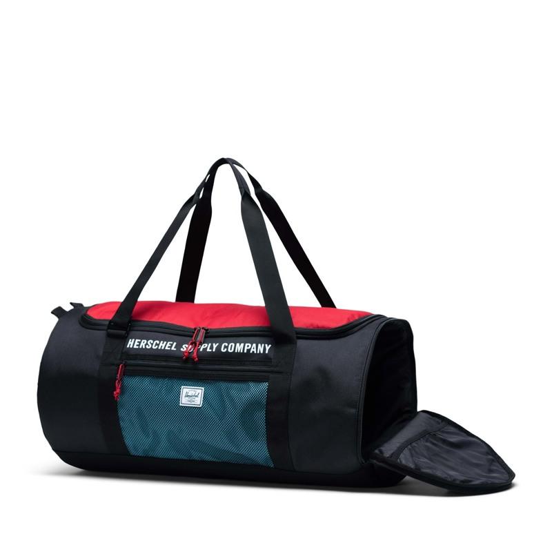 Herschel Sportstaske Sutton Carryall Sort/Rød 3