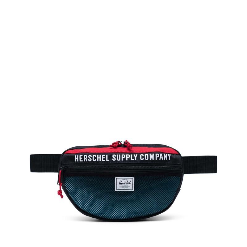 Herschel Bæltetaske Nineteen Sort/Rød 1