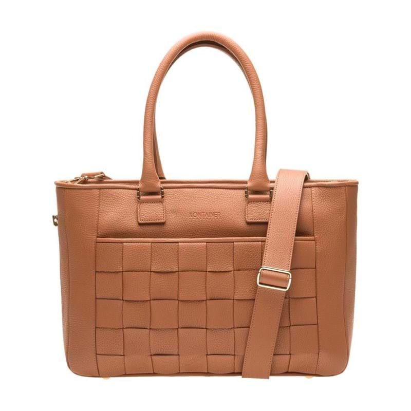 Kontainer Copenhagen Shopper Crush Camel 1