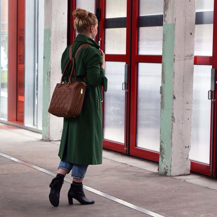 Kontainer Copenhagen Shopper Crush Camel 5