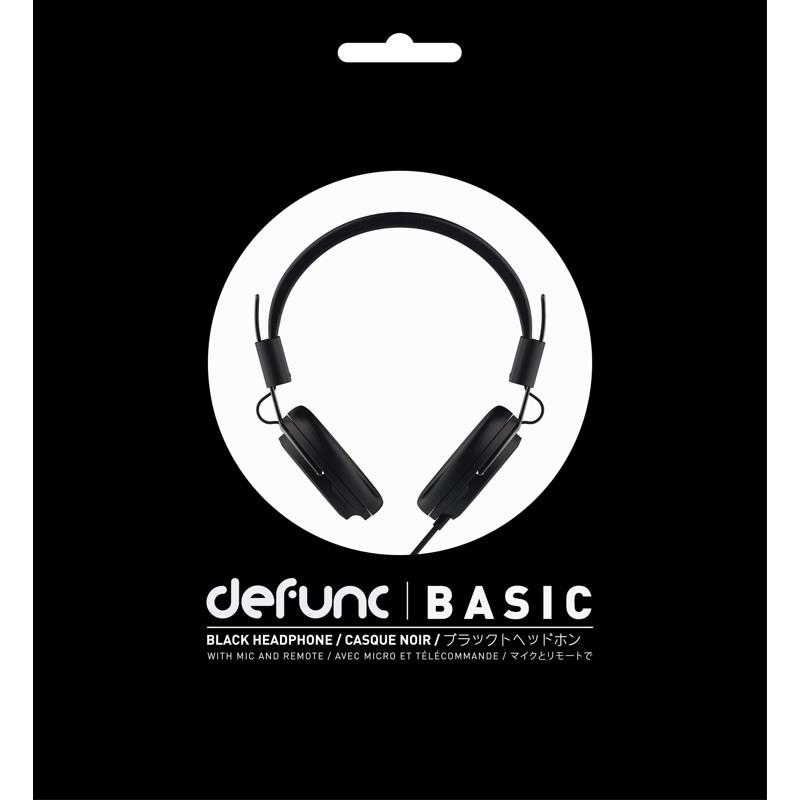 Høretelefoner Basic Sort 4