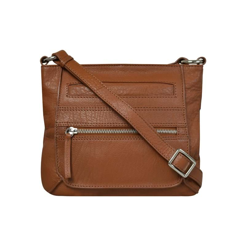 1ST ONE TO NOTICE Crossbody Cognac 1
