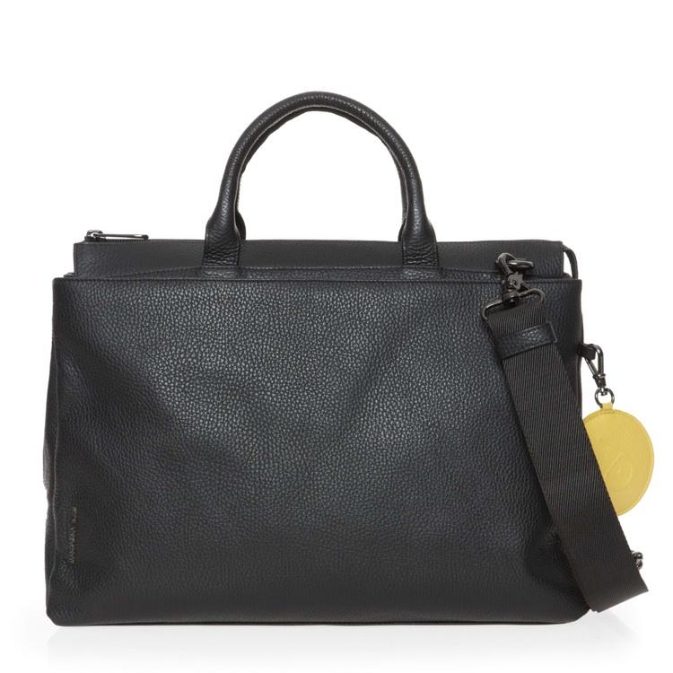 Mandarina Duck Arbejdstaske Mellow Leather Sort motiv 1