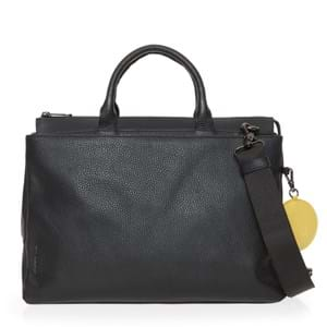 Mandarina Duck Arbejdstaske Mellow Leather Sort motiv