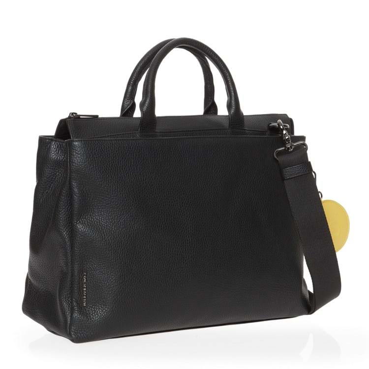 Mandarina Duck Arbejdstaske Mellow Leather Sort motiv 2