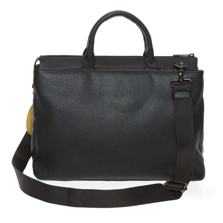 Mandarina Duck Arbejdstaske Mellow Leather Sort motiv 3