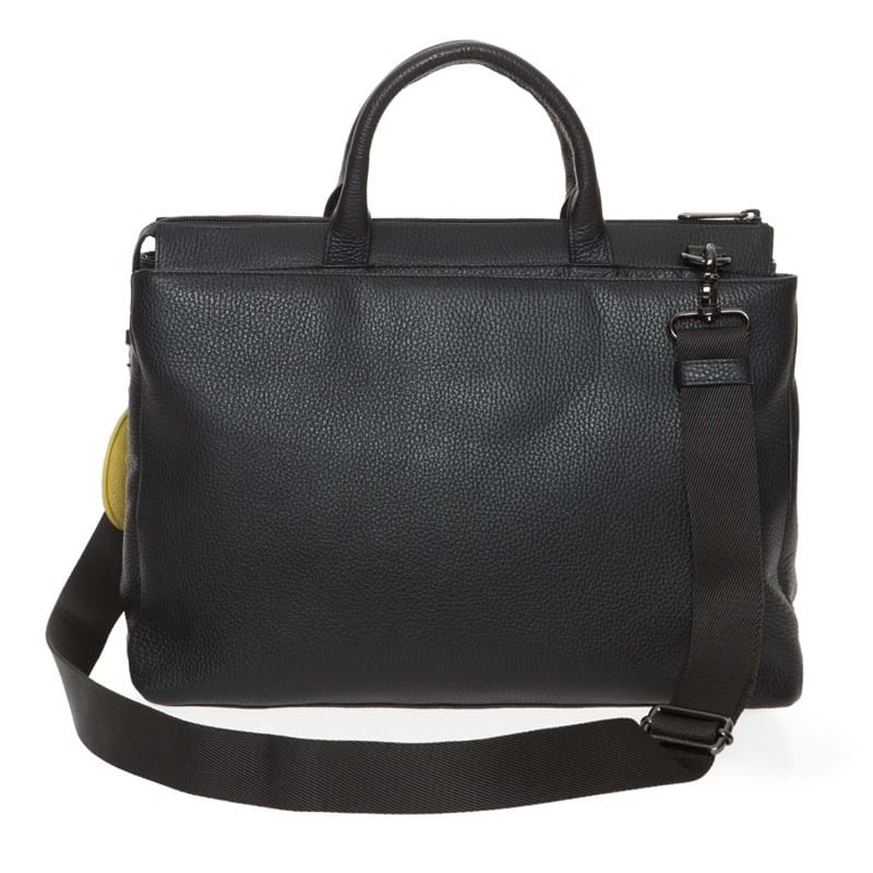 Mandarina Duck Arbejdstaske Mellow Leather Sort motiv 3
