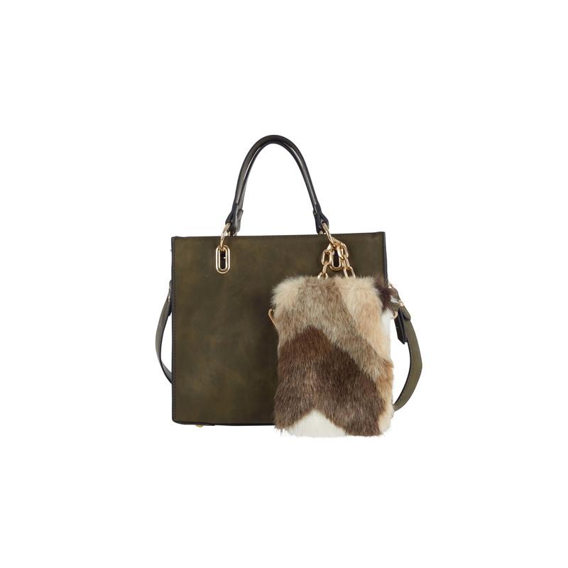 Ulrika Håndtaske  Grøn 1