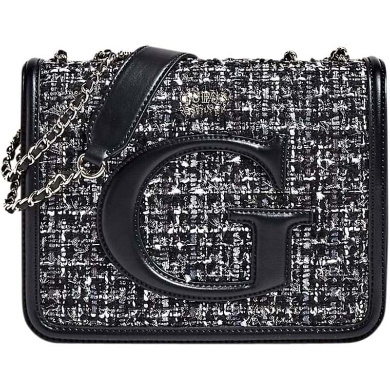 Guess Crossbody Chrissy   Grå/Sort 1