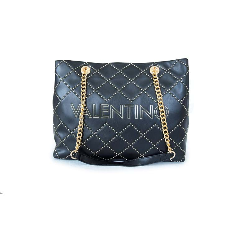 Valentino Handbags Shopper Mandolino Sort 4