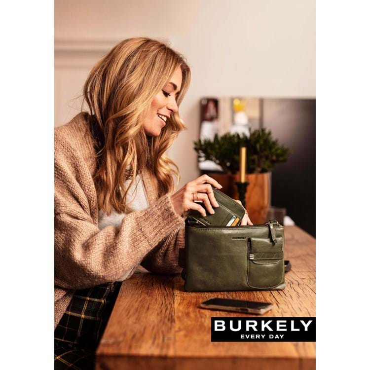 Burkely Crossbody Craft Caily X-Over M Grøn 7