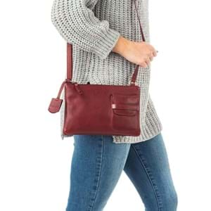 Burkely Crossbody Craft Caily X-Over M Rød 5
