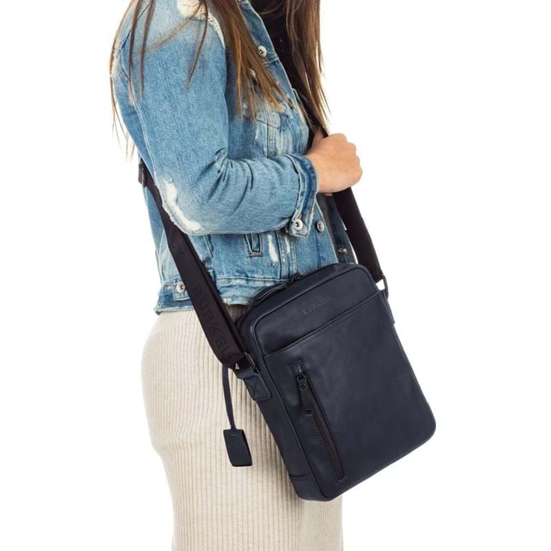Burkely Crossbody Rain Riley X-Over Blå 5