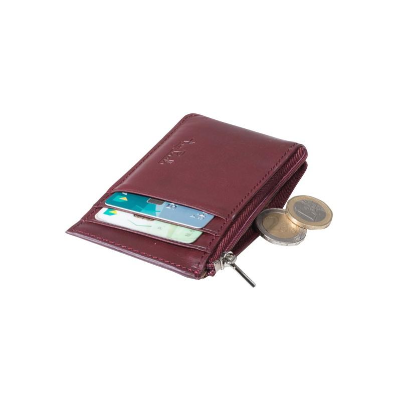 Tony Perotti Kreditkort Pung Furbo  Bordeaux 3