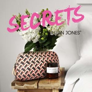 Gillian Jones Toilettaske Sort/Rød 3