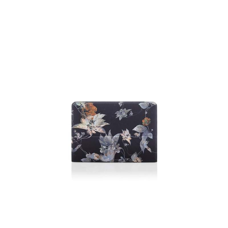 Trunk iPad Cover  Sort/med blomster 1