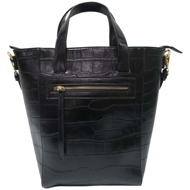 Saint Sulpice Shopper Sort/Croco 1