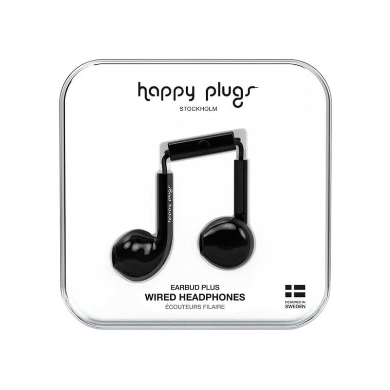 Høretelefoner Earbud Plus Sort 1