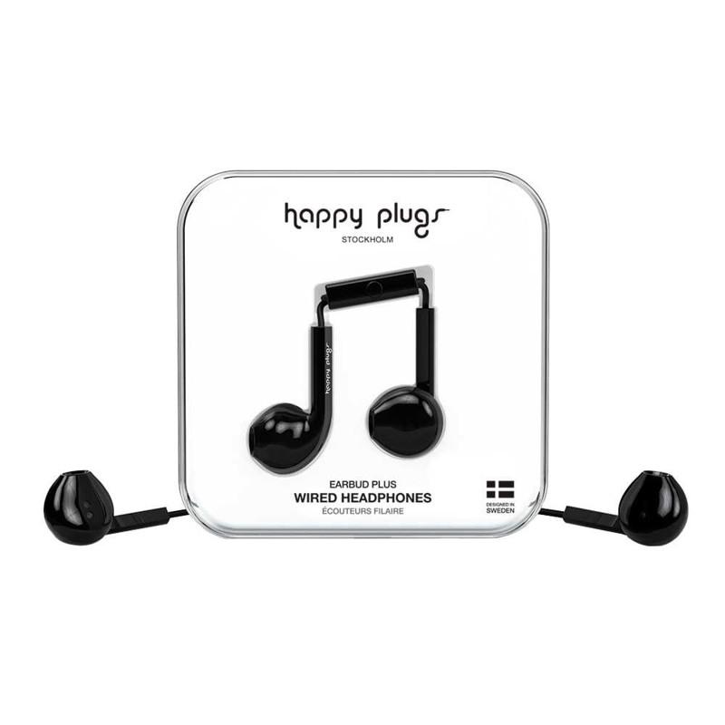 Høretelefoner Earbud Plus Sort 2