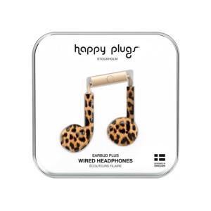 Happy Plugs Høretelefoner Earbud Plus Leopard 1