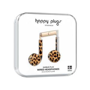 Happy Plugs Høretelefoner Earbud Plus Leopard 2