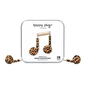 Happy Plugs Høretelefoner Earbud Plus Leopard 3