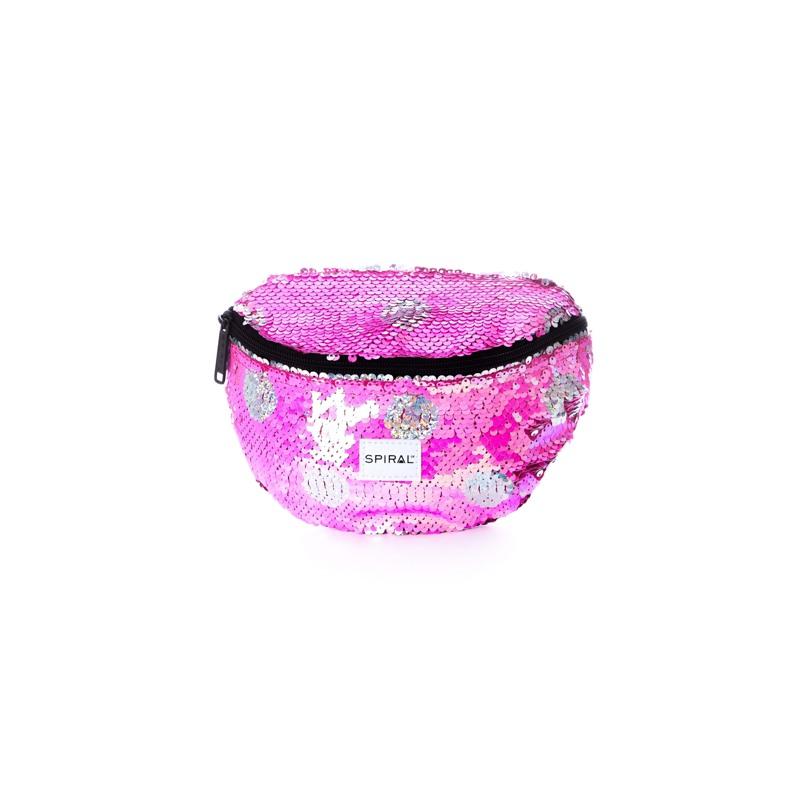 Spiral Bæltetaske Pink 1