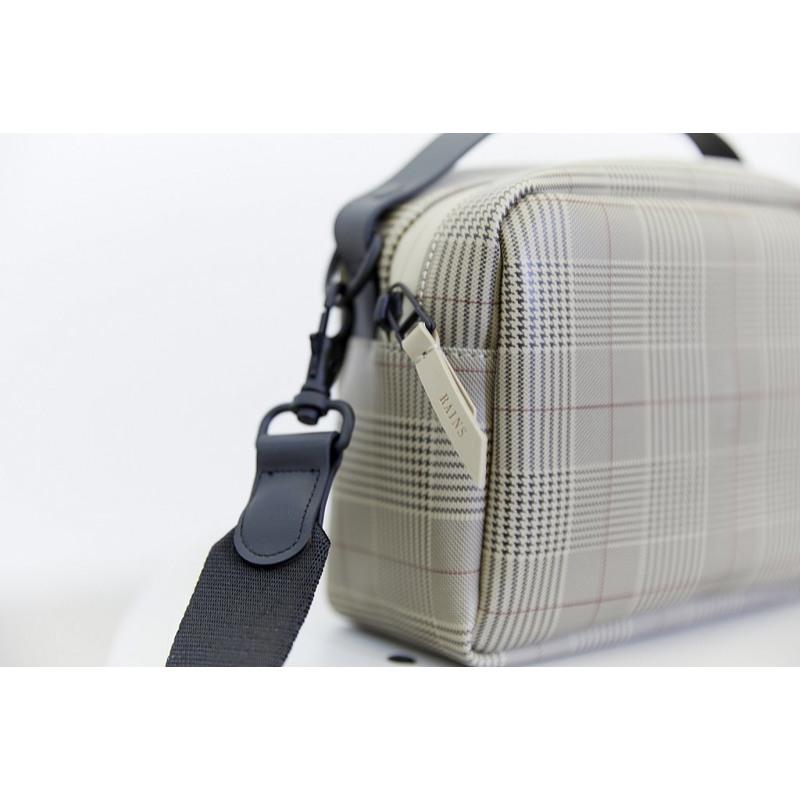 Rains Crossbody Check Box Bag Beige Tern 3