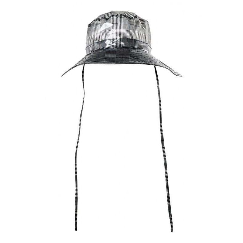 Rains Regnhat Check Boonie Hat Grå tern 1