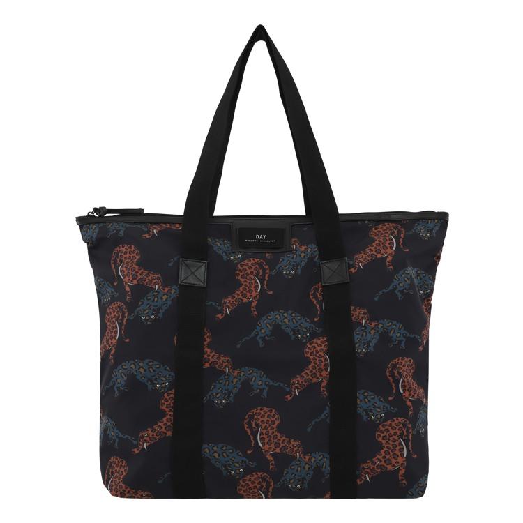Day et Shopper Day G P Cheetah Sort m/mønster 1