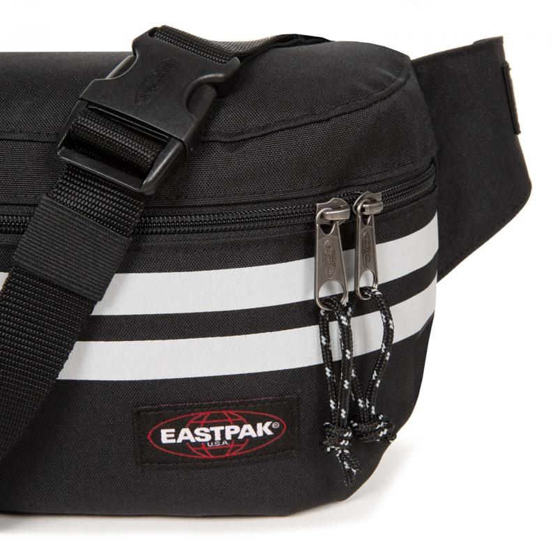 Eastpak Bæltetaske Bane Sort/sølv 5