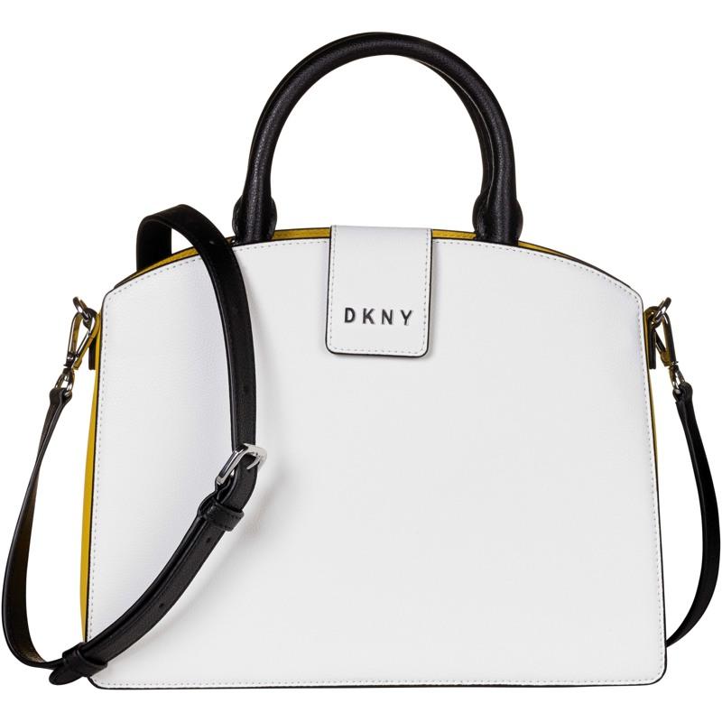 DKNY Crossbody Clara Pebble  Hvid 1