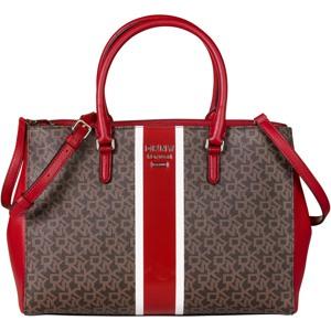 DKNY Håndtaske Whitney Logo Brun