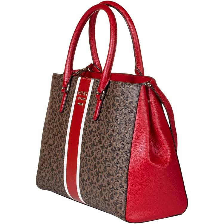 DKNY Håndtaske Whitney Logo Cognac 2