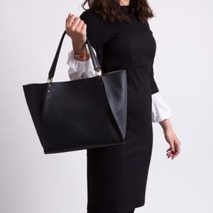 Pourchet Paris Shopper Hebdo Sort 2