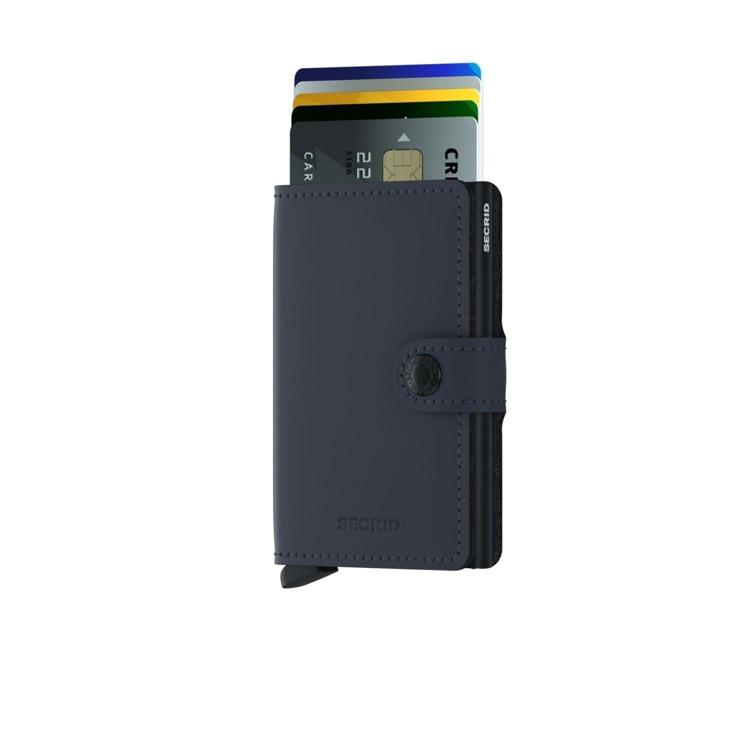 Secrid Kortholder Mini wallet M. blå 2