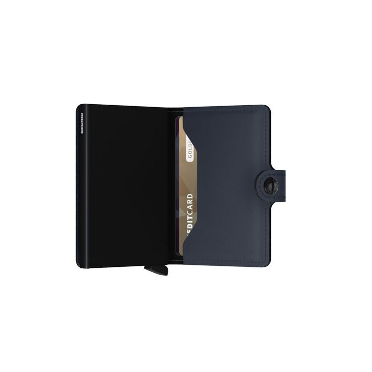 Secrid Kortholder Mini wallet M. blå 4