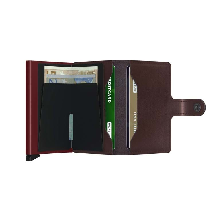 Secrid Kortholder Mini wallet Bordeaux 3