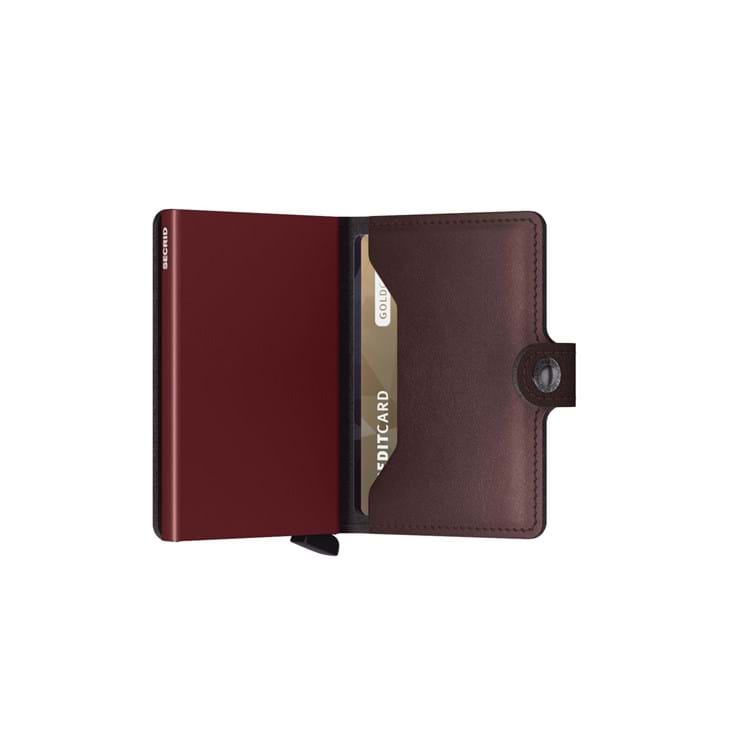 Secrid Kortholder Mini wallet Bordeaux 4
