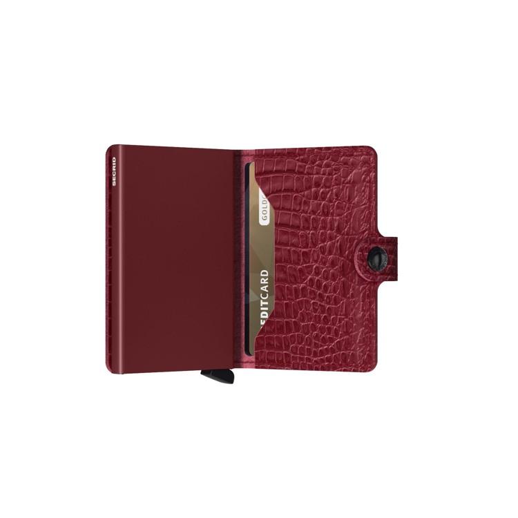 Secrid Kortholder Mini wallet Rød 4