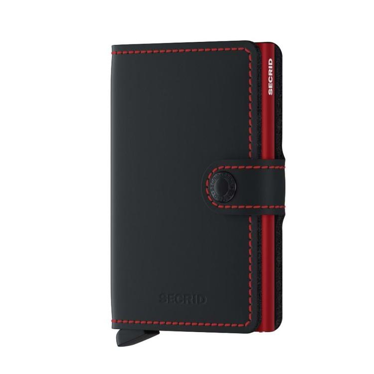 Secrid Kortholder Mini wallet Sort/Rød 1