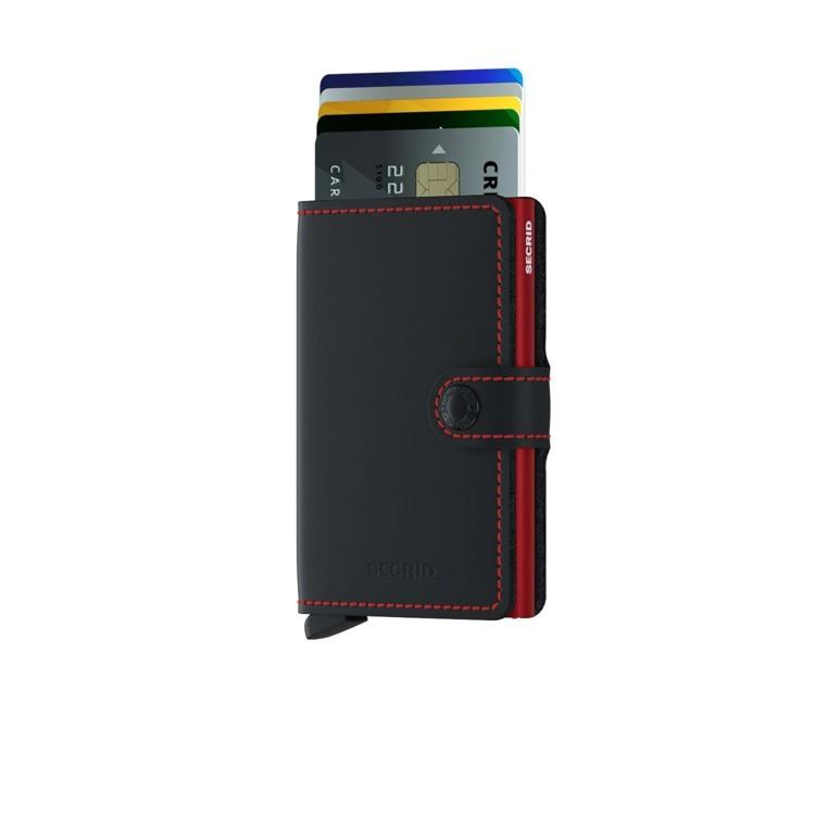 Secrid Kortholder Mini wallet Sort/Rød 2