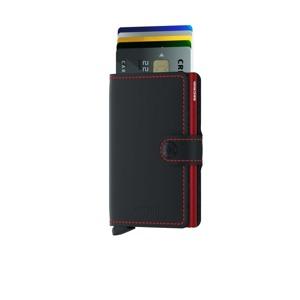Secrid Kortholder Mini wallet Sort/Rød alt image
