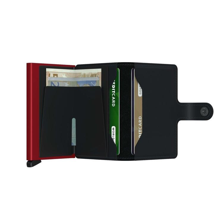 Secrid Kortholder Mini wallet Sort/Rød 3